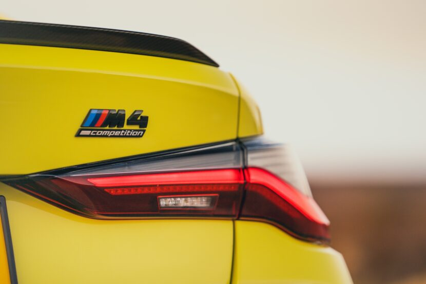 The The New BMW M4 Competition Coupe UK 11 830x553