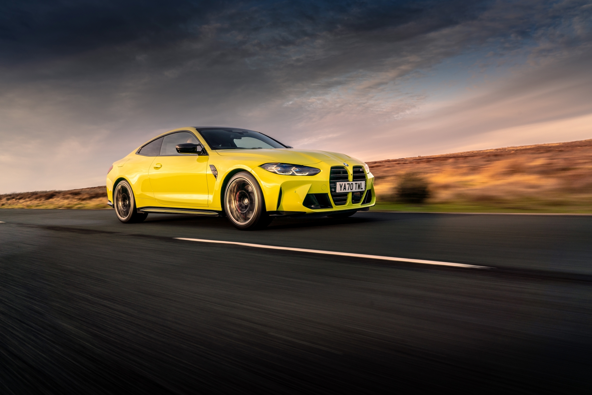 The The New BMW M4 Competition Coupe UK 27