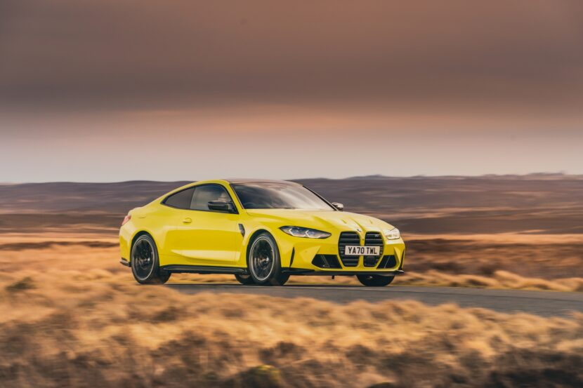 The The New BMW M4 Competition Coupe UK 30 830x553