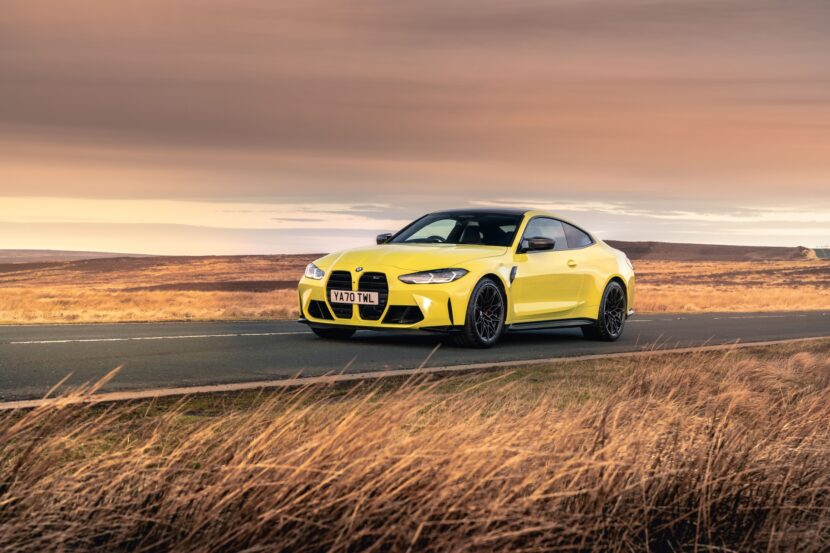 The The New BMW M4 Competition Coupe UK 40 830x553