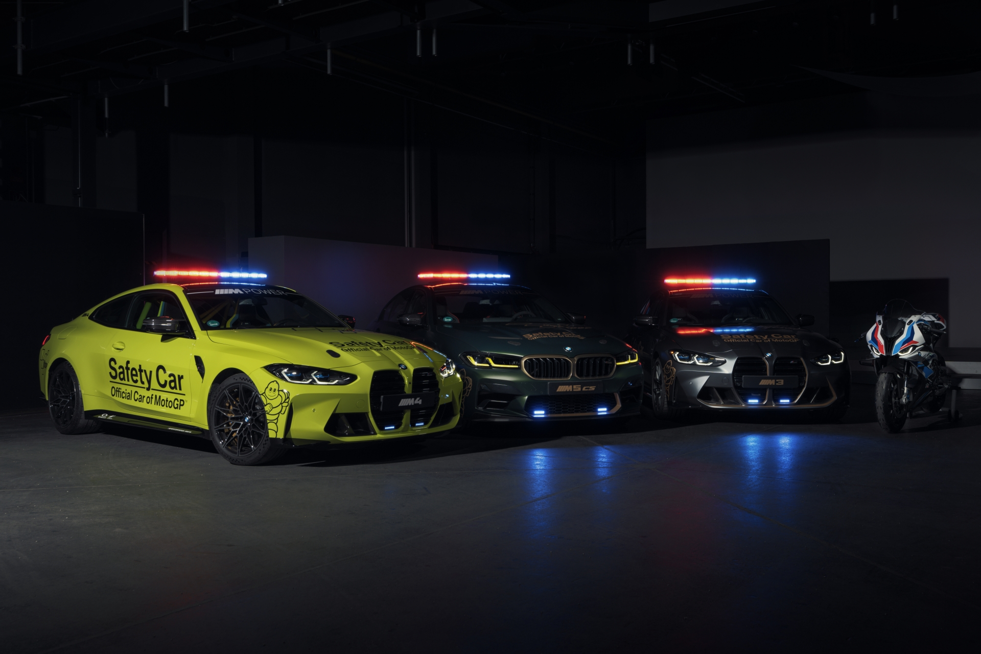 The new BMW M MotoGP Safety Cars for 2021