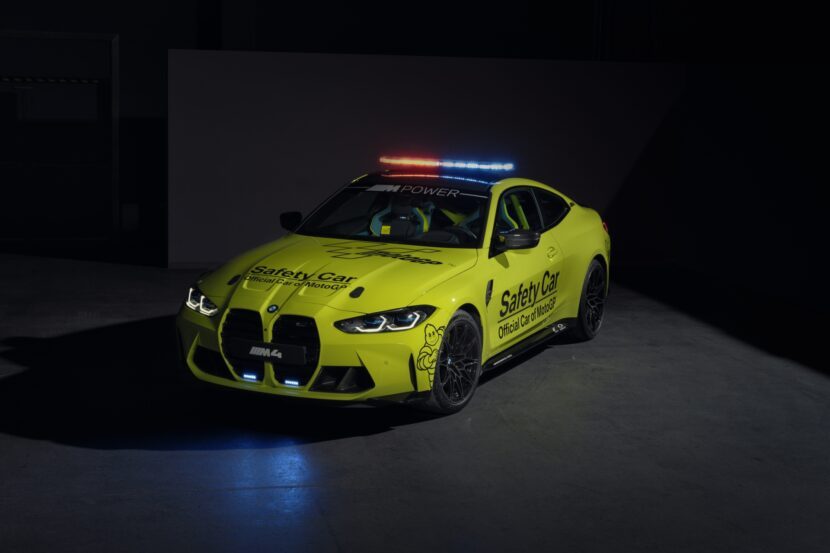 The new BMW M4 Competition Coupe MotoGP Safety Car 1 830x553