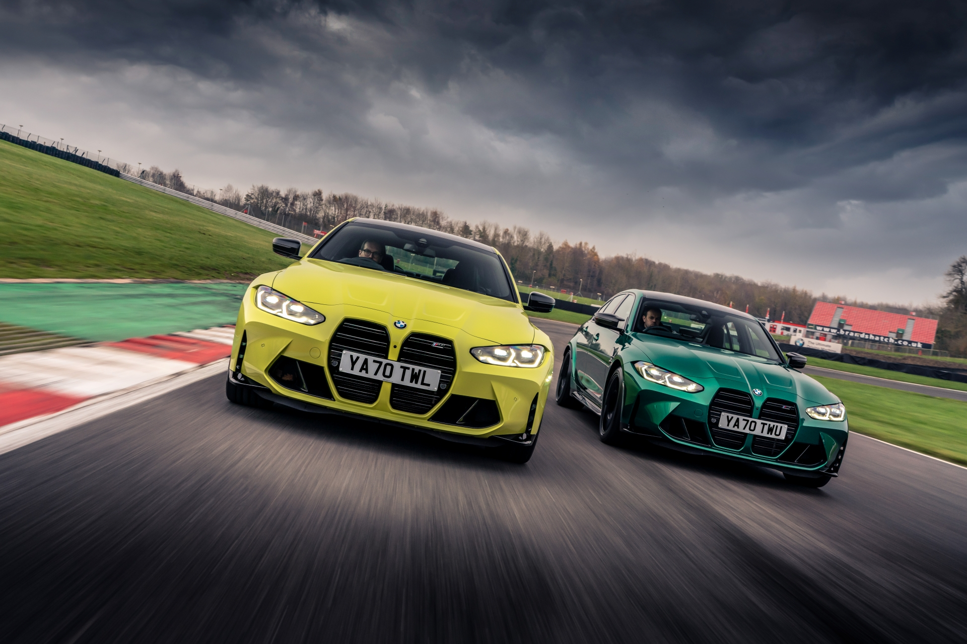 The new M3 Competition Sedan and M4 Competition Coupe in UK 2