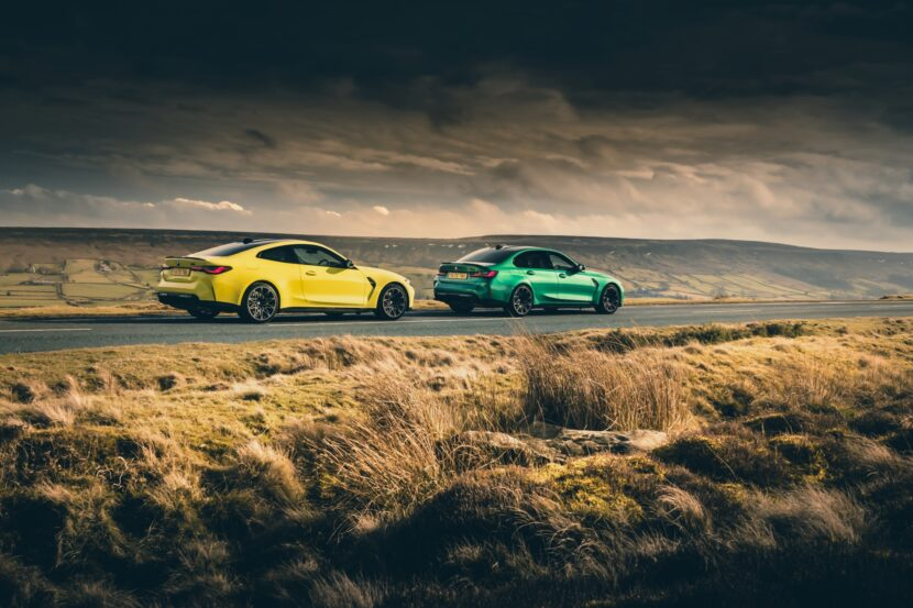 The new M3 Competition Sedan and M4 Competition Coupe in UK 4 830x553