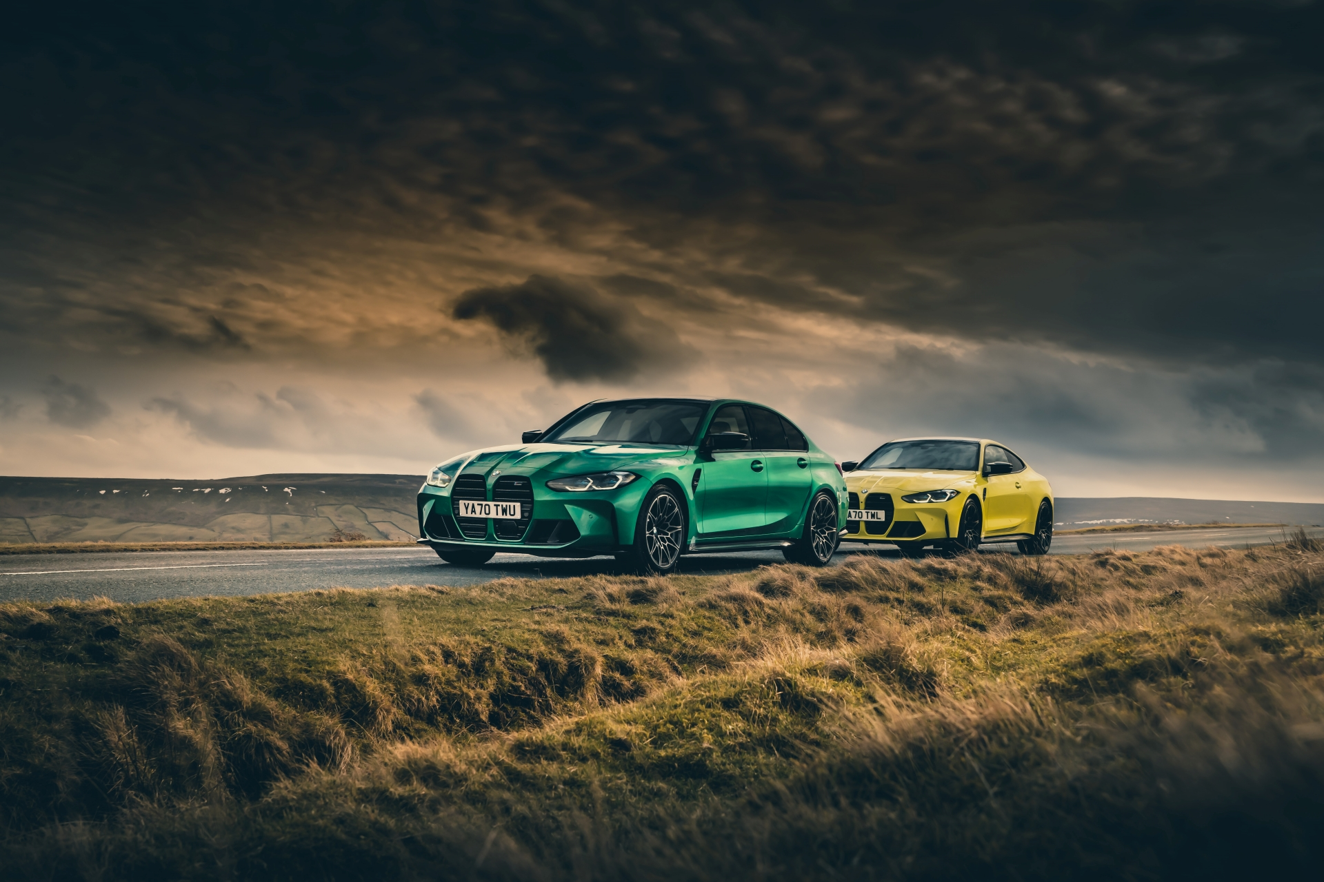 The new M3 Competition Sedan and M4 Competition Coupe in UK 5
