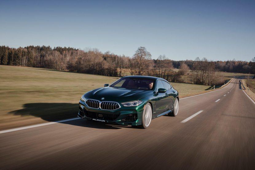 Alpina B8 Gran Coupe configurator goes live on US website