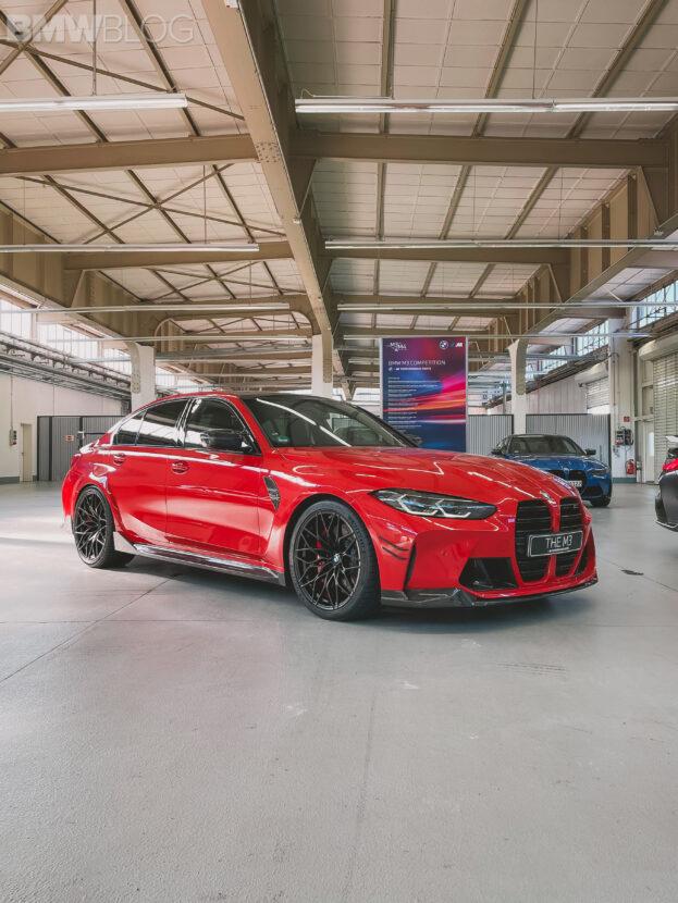 BMW M3 и M4 2021 года с деталями M Performance - Фотогалерея