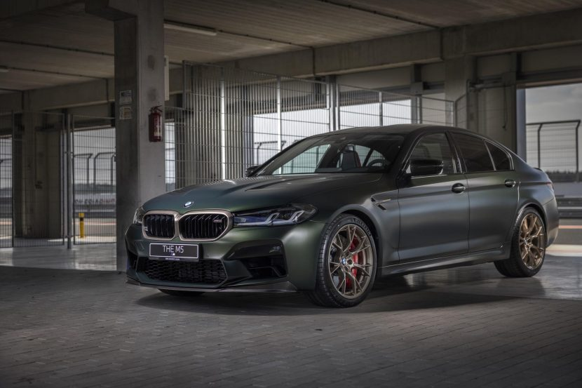 Video: BMW M5 CS slower on Sachsenring than M8 Competition