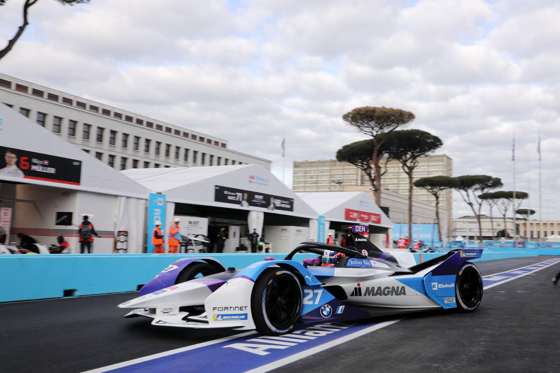 BMW i Formula E Team scores fifth place at the Rome E-Prix