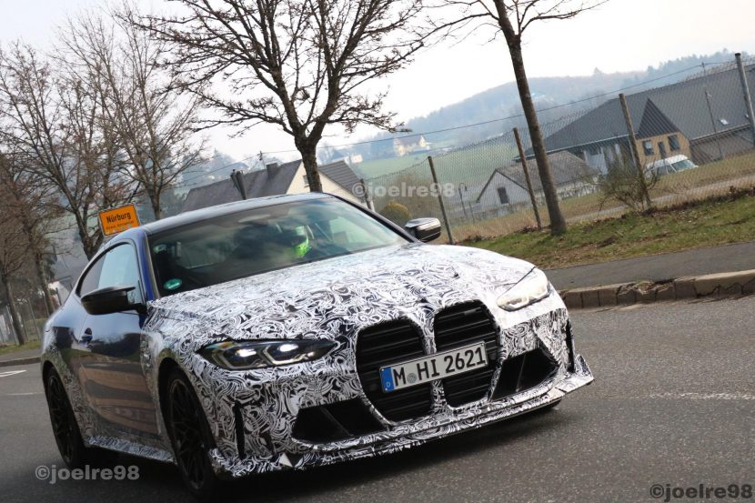2022 bmw m4 cs spy photos 00 830x553