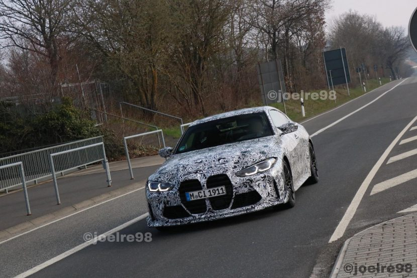 2022 bmw m4 cs spy photos 02 830x553