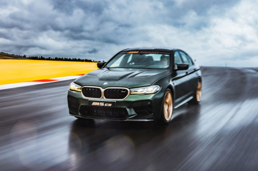 Video: BMW M5 CS Laps Nurburgring in 7 Minutes and 29.57 Seconds