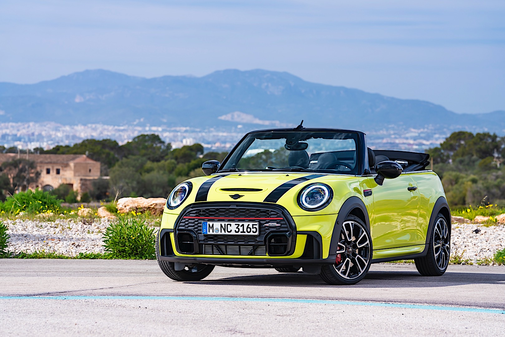 Facelifted MINI JCW Convertible unveiled with fresh looks and colors