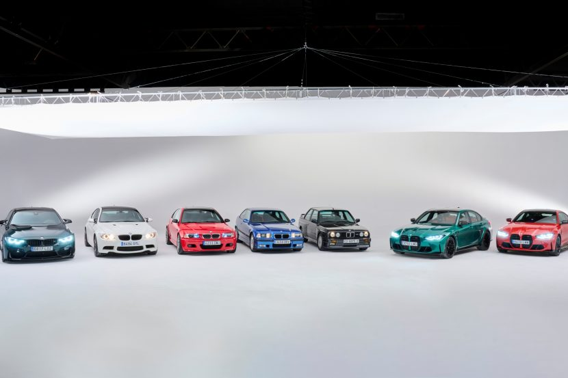 The BMW M3 Six generations 14 830x553