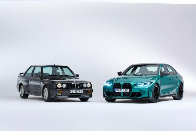 The BMW M3 Six generations 16 830x553