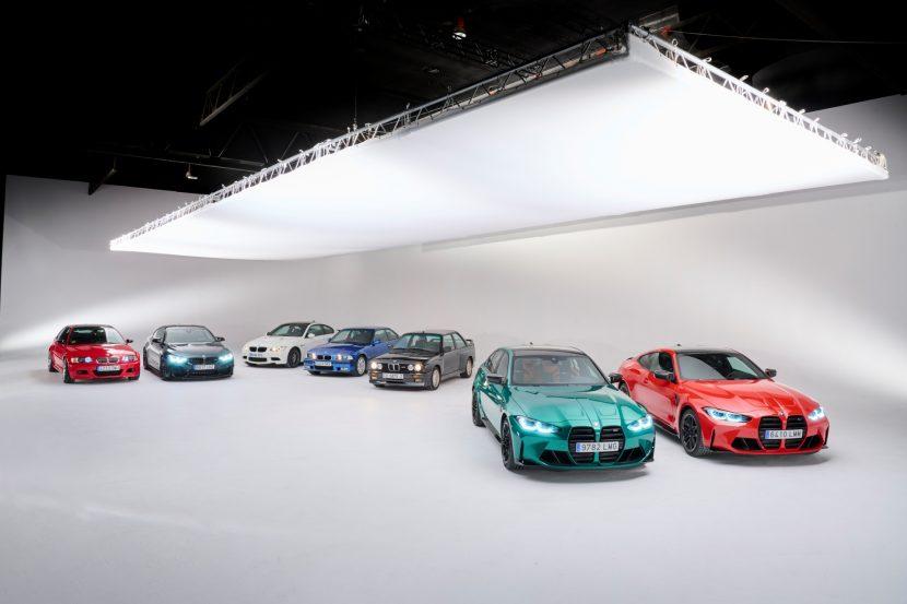 The BMW M3 Six generations 17 830x553