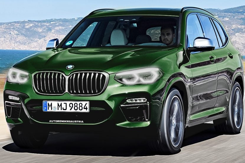 SPIED: BMW X3 LCI Seen Testing Again -- Keeps its Normal Grille