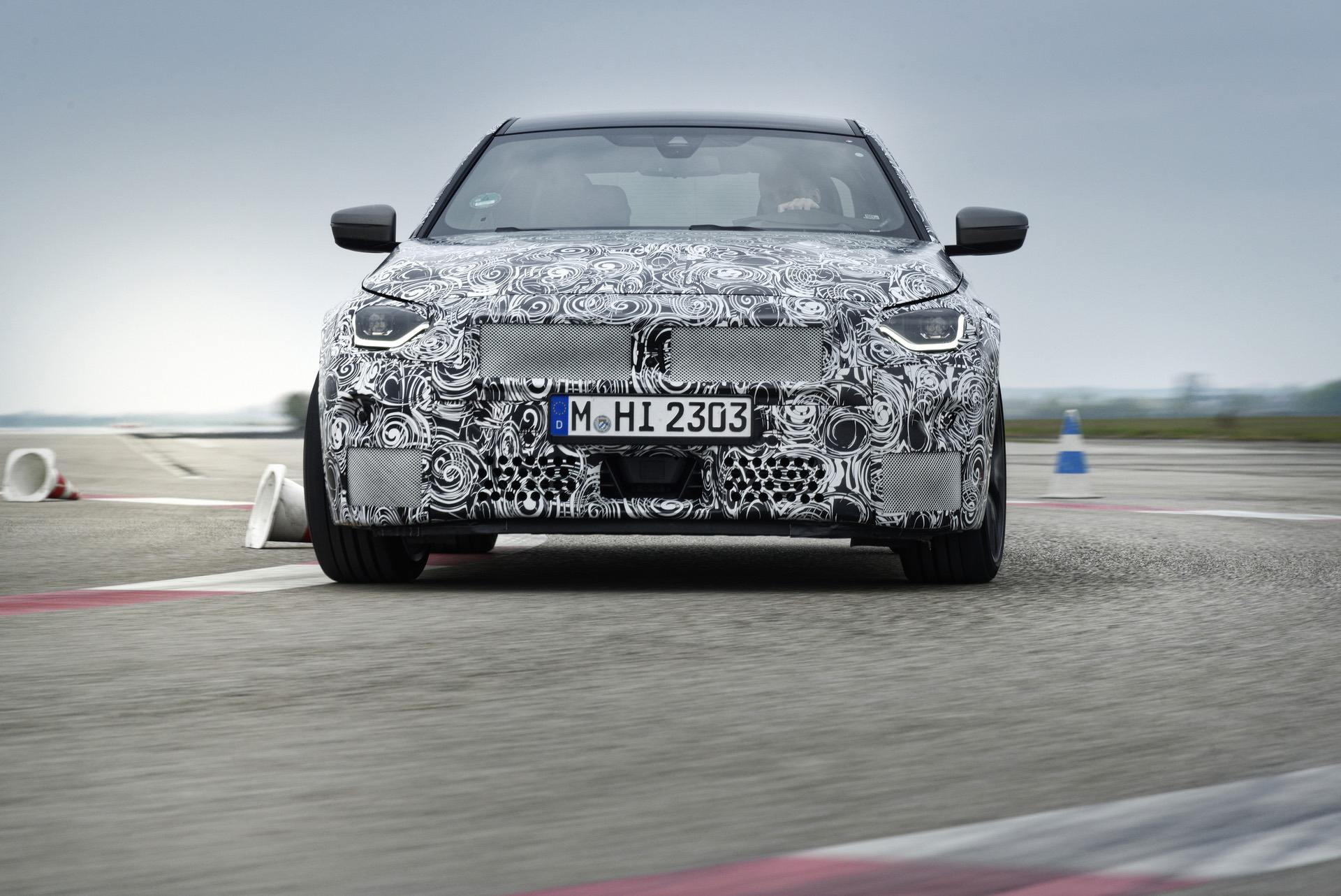 2022 BMW 2 Series Coupe – More photos of the prototype car
