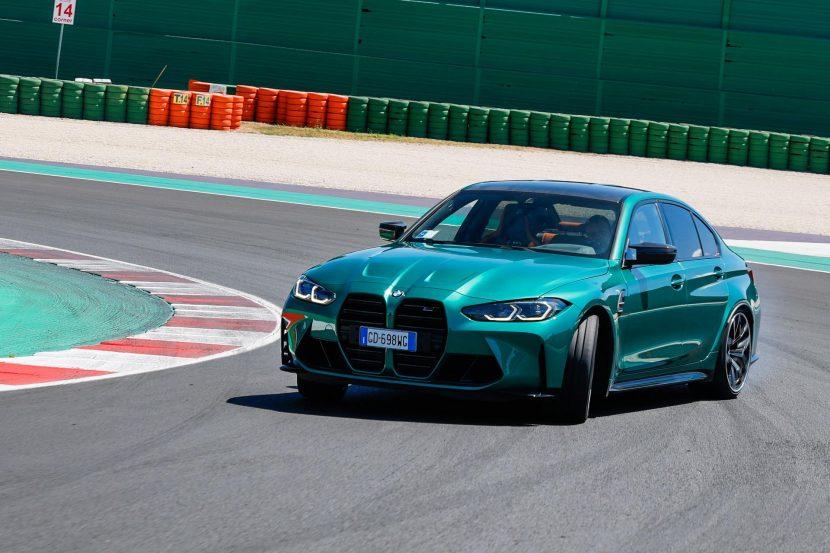 VIDEO: G80 BMW M3 Competition vs E46 BMW M3 CSL