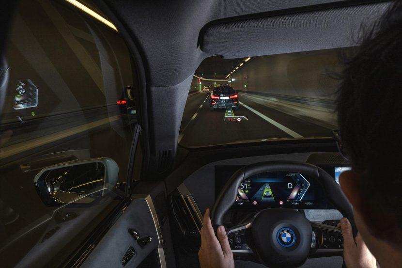 BMW iX Driver assistance systems 13