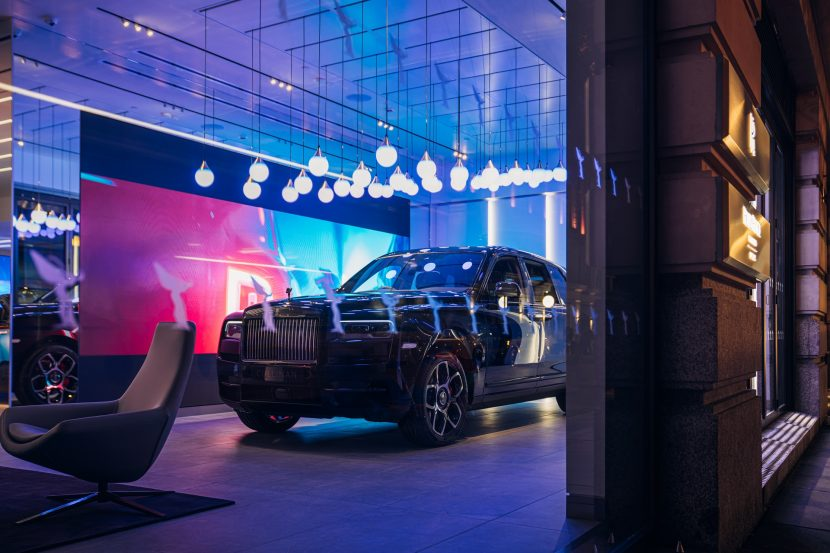 Video: Take a tour of the newest Rolls-Royce dealership in London