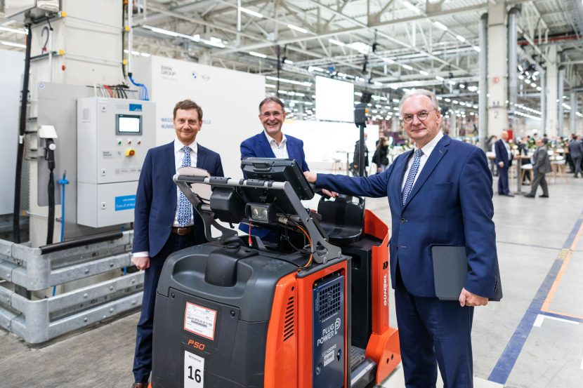 BMW Leipzig plant gets fourth hydrogen station, aims to become 'greener'