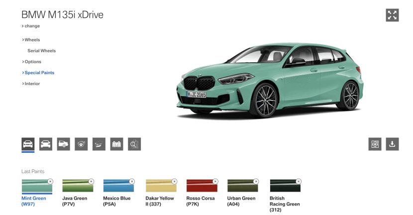 bmw 1 series mint green 830x432