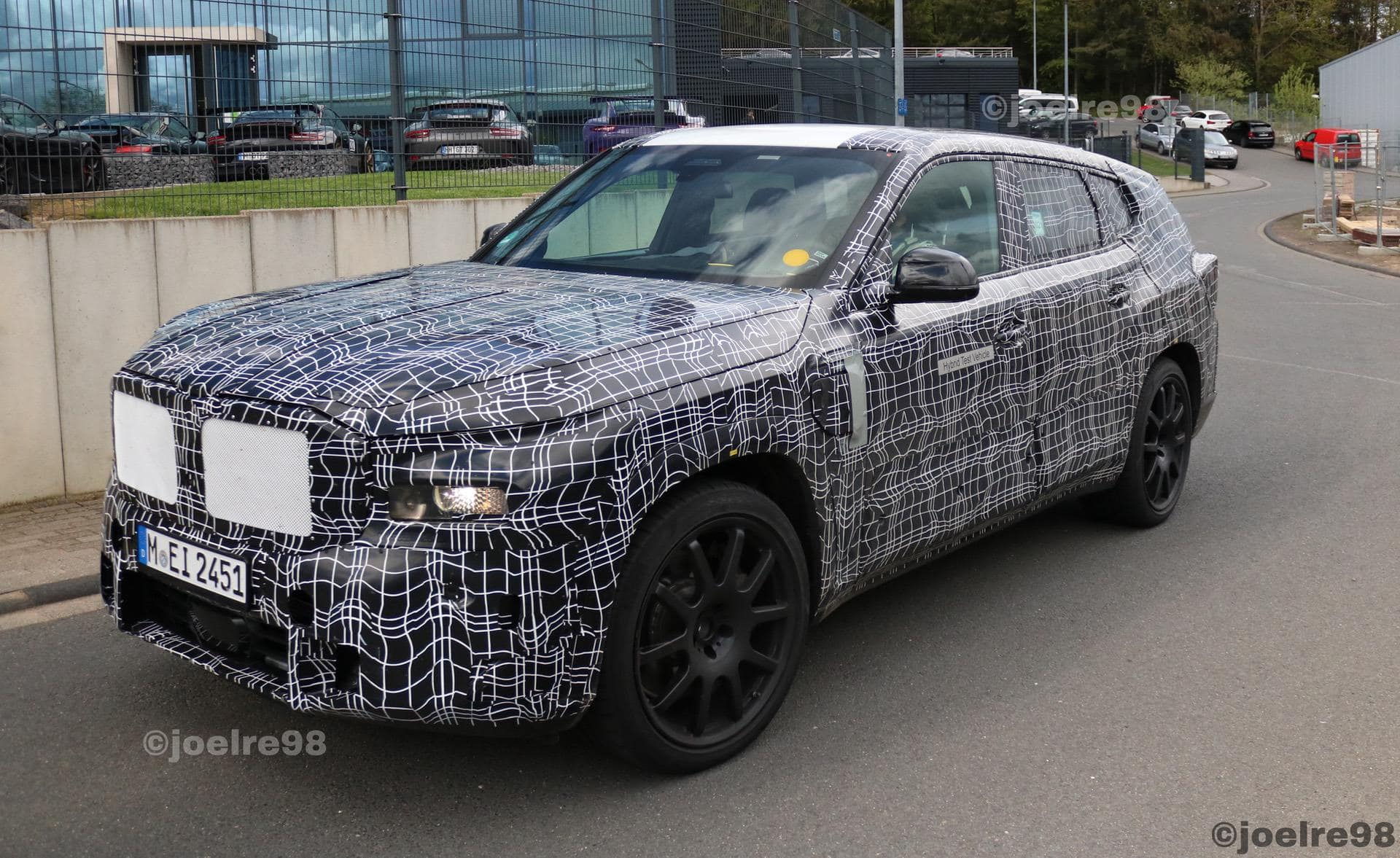 SPIED: BMW iX1, XM And More Are Out Testing in Camouflage