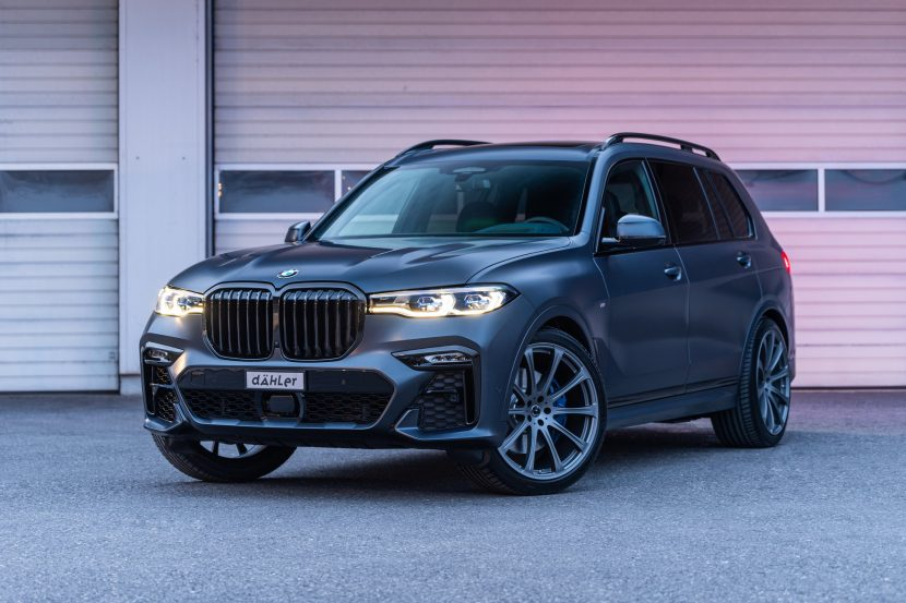 Dahler Makes its own BMW X7 M, taking the M50i to 630 HP
