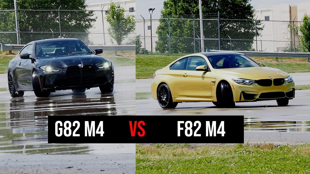 g82 m4 vs f82 m4