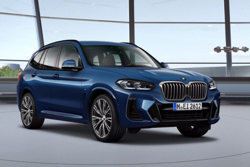 2021 BMW X3 Facelift M Sport Paket 01