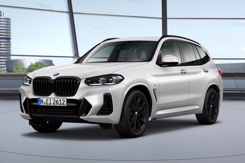 2021 BMW X3 Facelift M Sport Paket 02