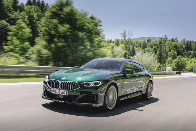VIDEO: Upclose with the 2022 BMW ALPINA B8 Gran Coupe