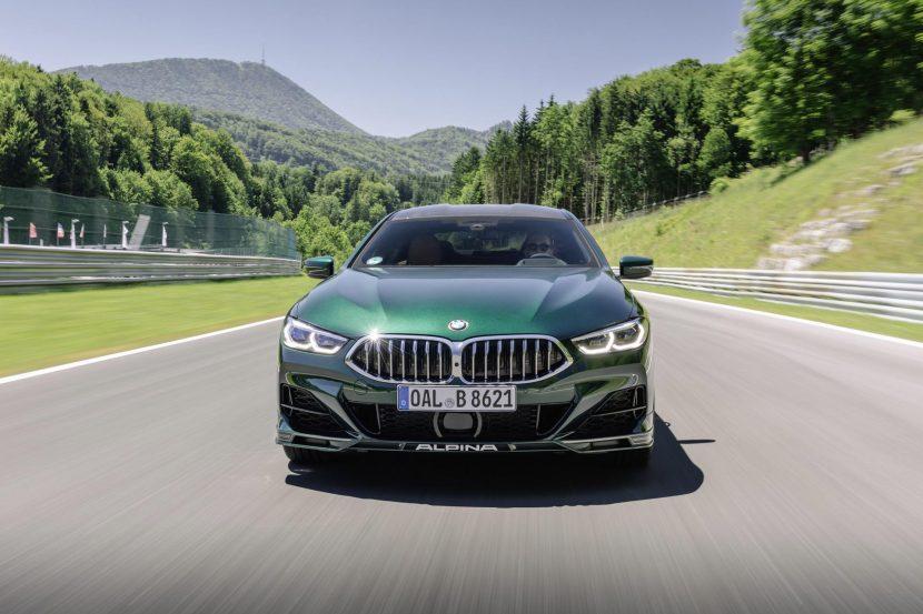 Stunning new photos of the 2021 BMW ALPINA B8 Gran Coupe