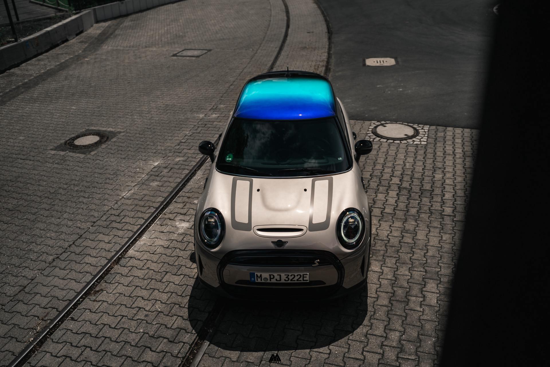 2021 mini cooper se Ev test Drive 22