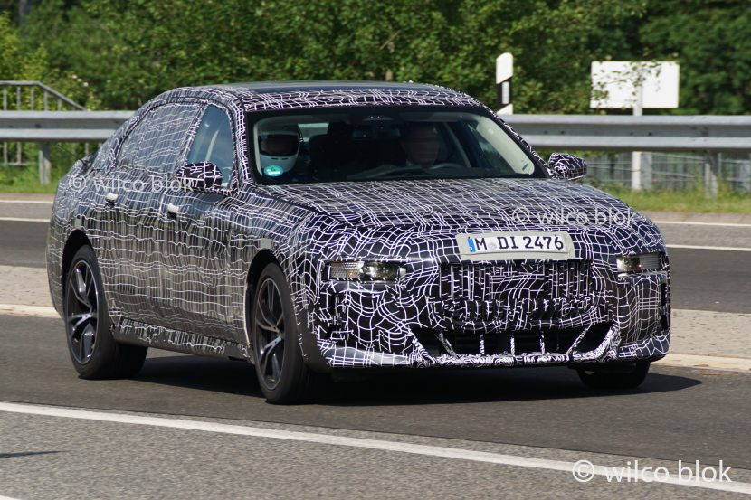 SPIED: More BMW 7 Series Spy Photos Surface Showing Off Smaller Grilles
