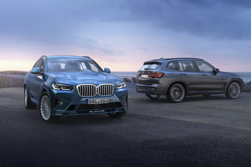 ALPINA XD3 and XD4 Get Their Own LCI Facelifts