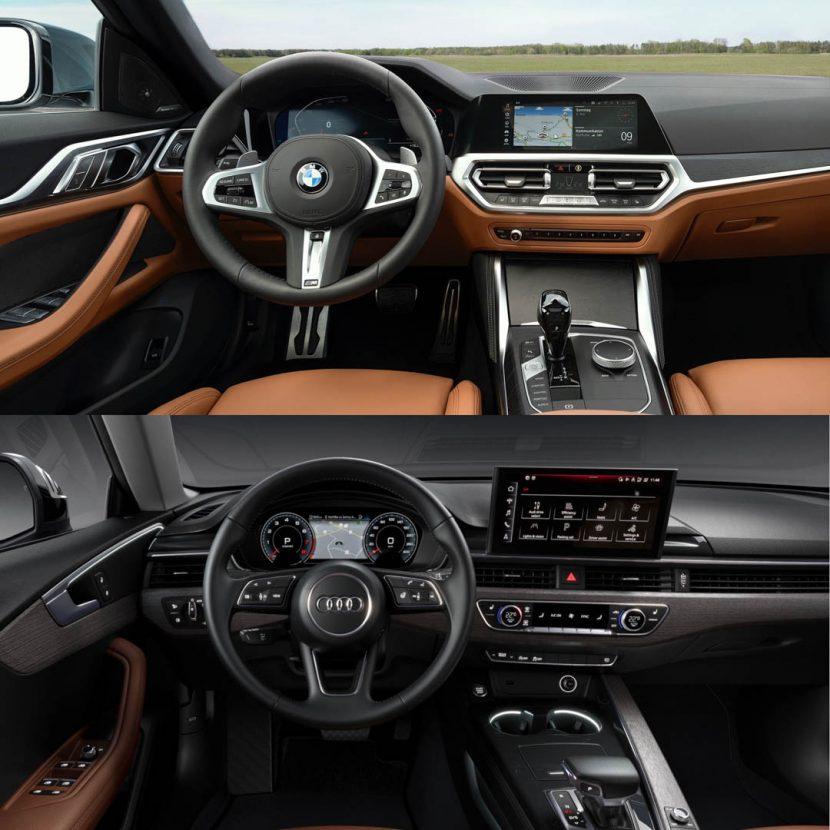 Audi A5 Sportback vs BMW 4 Series Gran Coupe 1 of 6