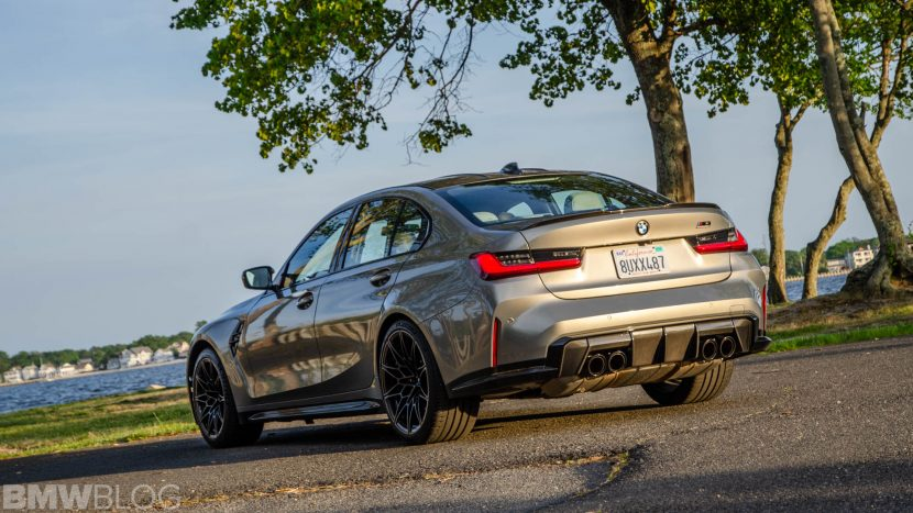 BMW M3 Competition Test Drive 16 of 40