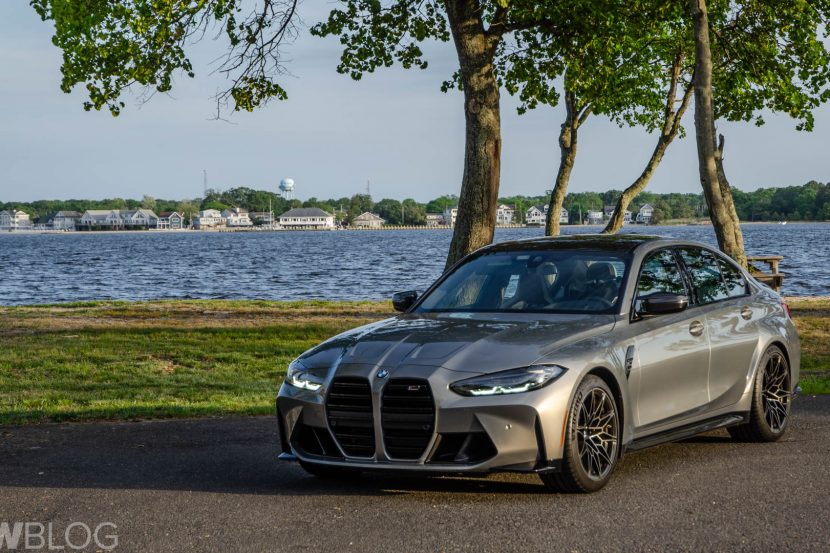 BMW M3 Competition Test Drive 3 of 40 830x553