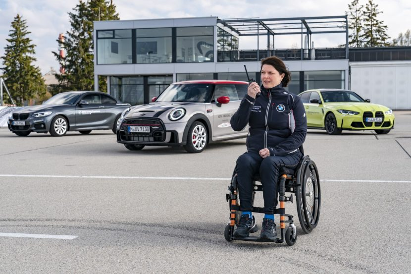 BMW and MINI Driving Experience for people with disabilities 141 830x553