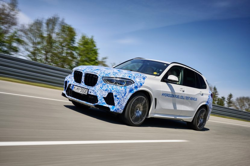 BMW i Hydrogen NEXT is a Test Bed for Hydrogen Fuel Cell Technology