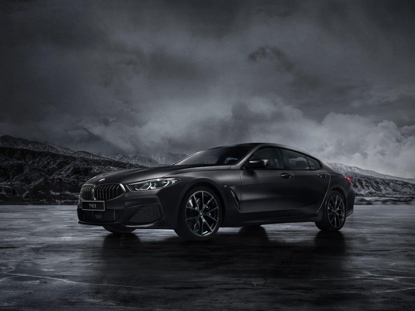 BMW 840i gran Coupe Frozen Black edition 03 830x623