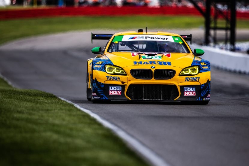 Bill Auberlen extends his winning record with 63rd aboard the M6 GT3