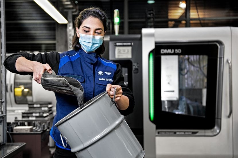 BMW unveils new Tungsten recycling program, 60% CO2 emissions cut