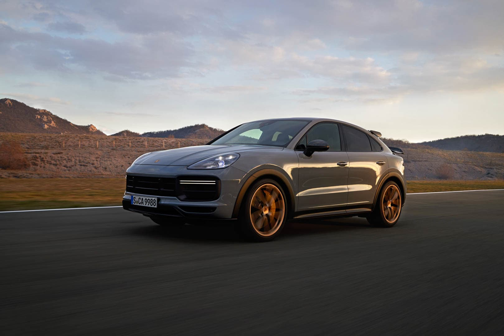 Porsche Cayenne Coupe Turbo GT 1 of 2