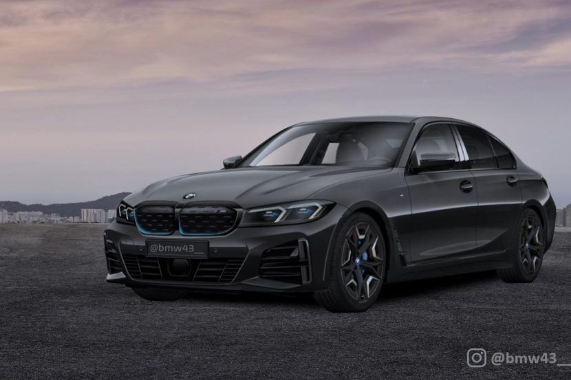 SPIED: BMW 3 Series Electric Long Wheelbase Seen Testing