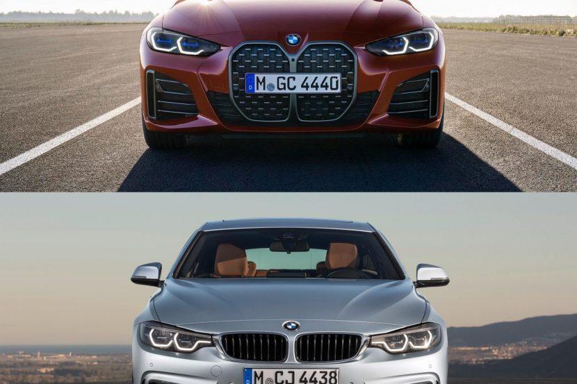 Photo Comparison: F36 4 Series Gran Coupe vs. G26 4 Series Gran Coupe