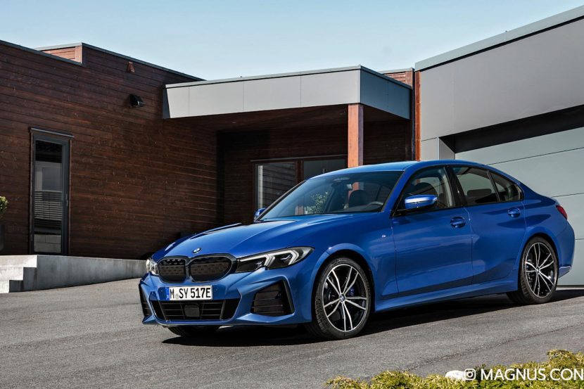 Future BMW 3 Series Electric gets a new Photoshop image