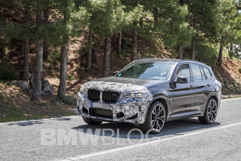 Spy Photos: 2021 BMW X3 Facelift spotted in Spain